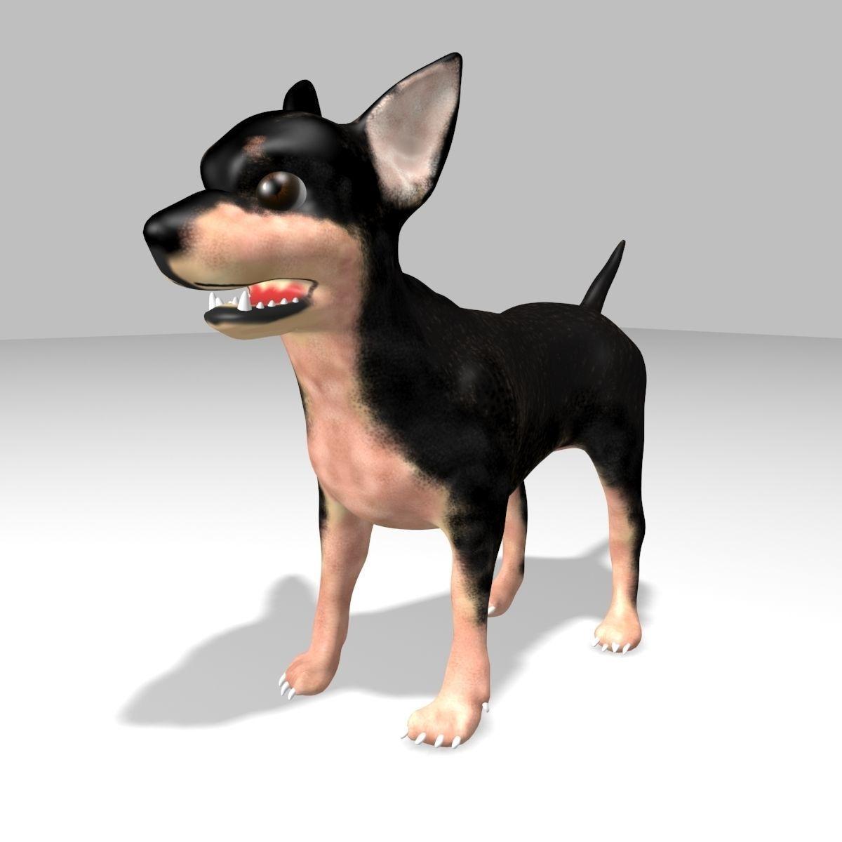 XYZprinting free-downloadable 3D models   Toys   Chihuahua Dog